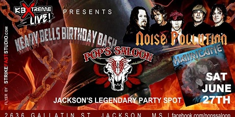 Noise Pollution(The AC/DC Experience)& Hairicane. Keary Bells Birthday Bash tickets
