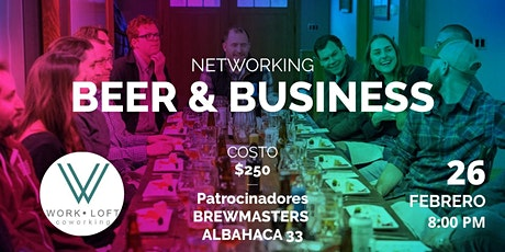 NETWORKING: BEER & Business boletos