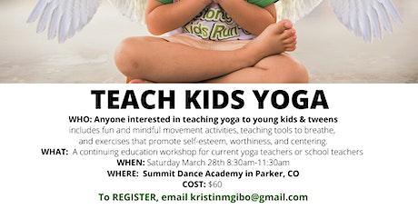 Intro to Kids/Tween Yoga tickets