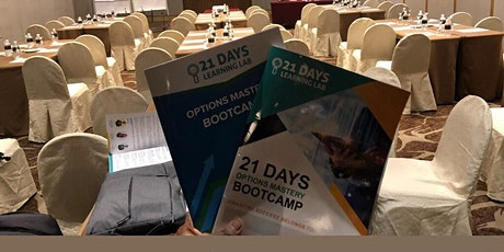 Options Mastery Bootcamp SG 18& 19th APR 2020 - Resit RSVP tickets