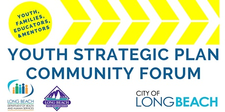 Youth Strategic Plan At-Large Community Forum tickets