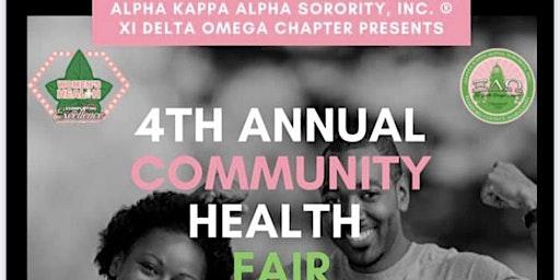 AKA Free Community Health Fair