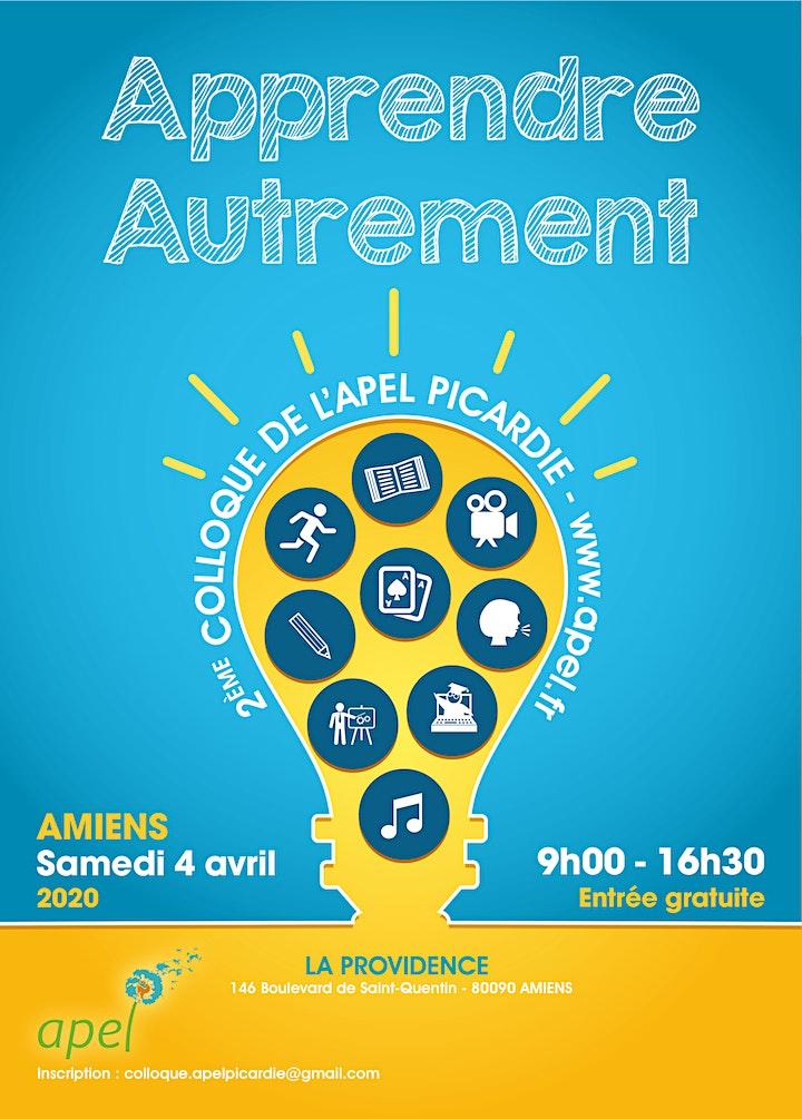 Image pour Colloque Apel Picardie 04/04/2020 -Apprendre Autrement-