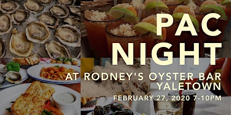 PAC Night at Rodney's Yaletown tickets