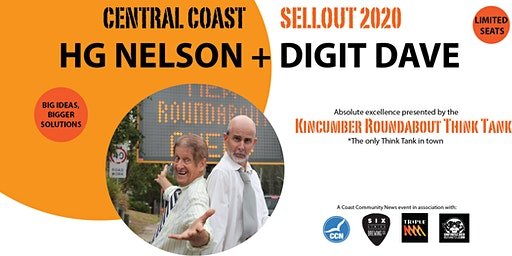 HG NELSON + DIGIT DAVE SELLOUT 2020 COMEDY TOUR