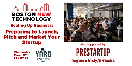 Scaling Up Business: Preparing to Launch, Pitch and Market Your Startup tickets