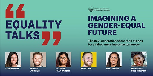 Equality Talks: Imagining a gender-equal future