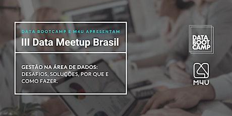 III Data Meetup Brasil ingressos