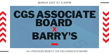 CGS Associate Board x Barry's tickets
