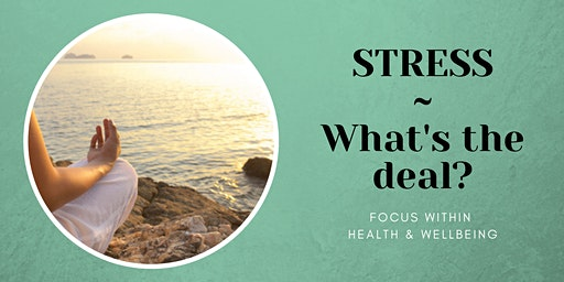STRESS ~ What's the deal?