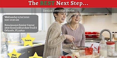 Senior Seminar: The Best Next Step tickets