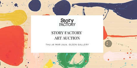 STORY FACTORY ART AUCTION tickets