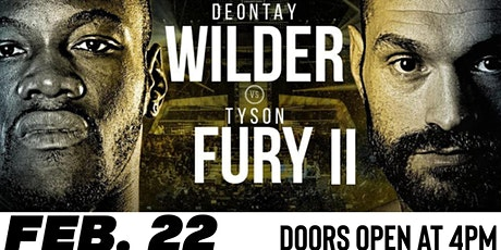 Deontay Wilder Vs Tyson Fury II (Fight Party) tickets