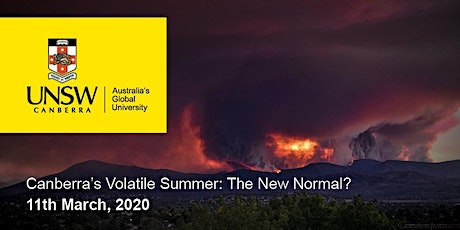 Canberra's Volatile Summer: The New Normal? tickets