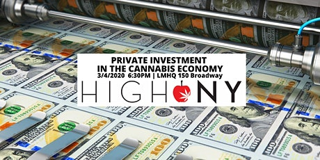High NY: Private Investment in the Cannabis Economy tickets