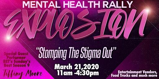 Mental Health Rally Explosion