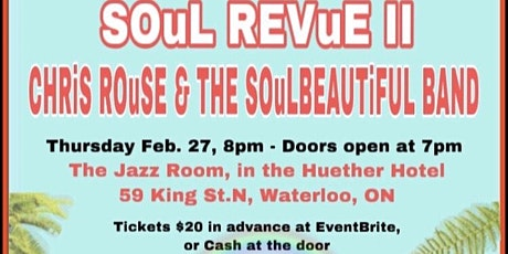 CLASSiC SOuL REVUE in WATERLOO V.2~* tickets