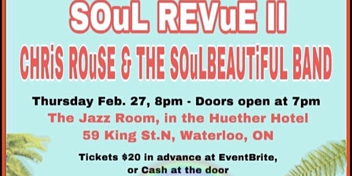 CLASSiC SOuL REVUE in WATERLOO V.2~*