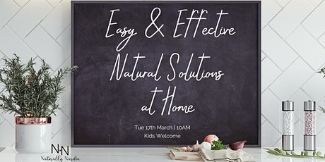 Natural Solutions at Home tickets