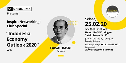 [PAID EVENT] Indonesia Economy Outlook 2020 with Faisal Basri