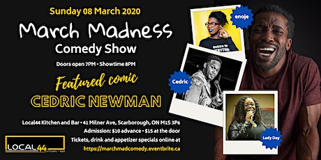March Madness Comedy Show tickets