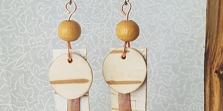Earring Workshop with Natural Materials tickets