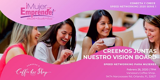 ME LATINA / COFFEE  'POWER TALK & SPEED NETWORKING  EVENT'