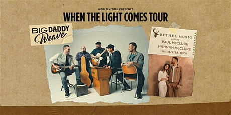 Big Daddy Weave - World Vision Volunteer - Pensacola, FL tickets