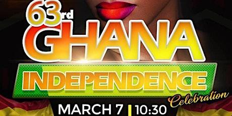 Ghana 63rd Independence Celebration tickets