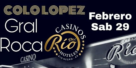 SHOW DEL COLO LOPEZ - SÁBADO 29/02/20 entradas