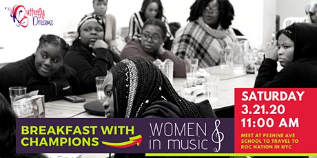 Breakfast with Champions: Women in Music tickets