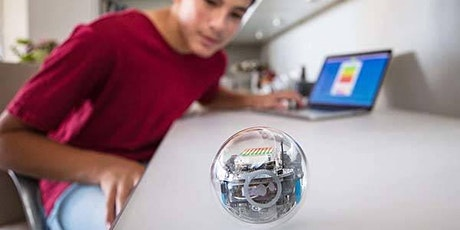 Ozobots and Spheros, Ages 6-12, FREE tickets
