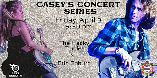 Casey's Concert Series - The Hacky Turtles and Erin Coburn
