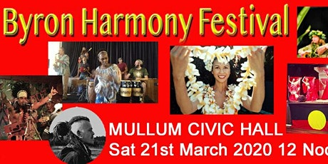 Byron Harmony Day Festival Benefit Concert for the Rural Fire Services tickets