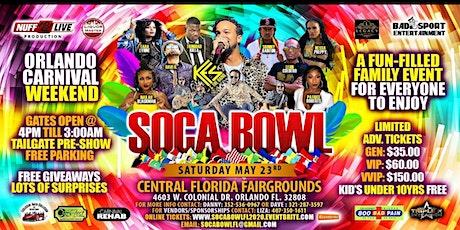 SOCA BOWL FL LLC tickets