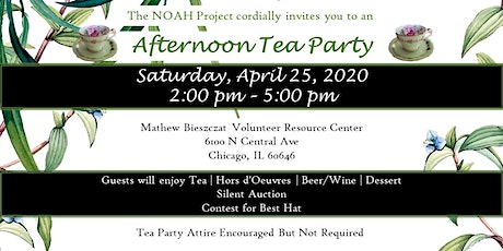 Afternoon Tea Party Fundraiser and Silent Auction tickets