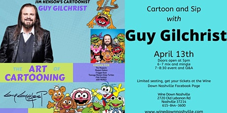 Cartoon and Sip with Guy Gilchrist tickets