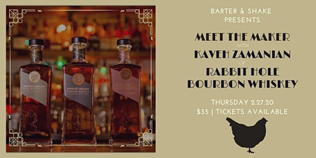 Rabbit Hole Kentucky Whiskey Arizona Brand Launch Tasting tickets