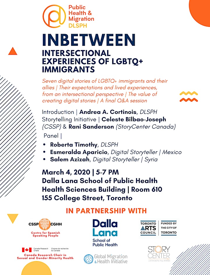 Digital Storytelling: Intersectional Experiences of LGBTQ+ Immigrants image