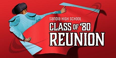 Sandia High School Class of 1980 40th Reunion tickets