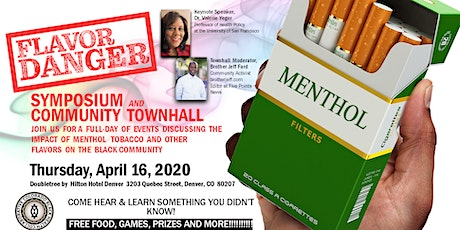 *CANCELED*Flavor Danger: Avoid the Trap of Menthol Tobacco and Other Flavors!   tickets