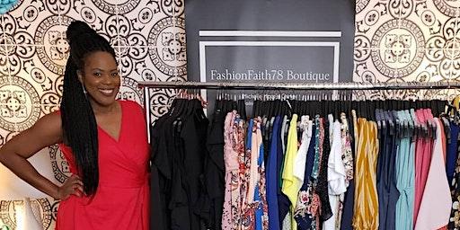 FASHIONFAITH78 BOUTIQUE WOMENS CLOTHING POP-UP LAUNCH