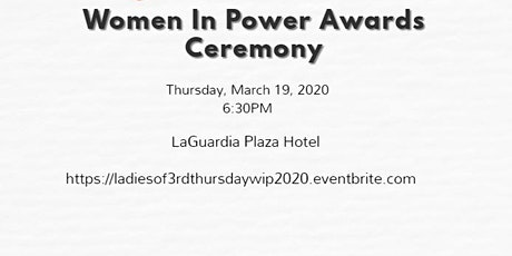 Vendor Women In Power Awards Celebration tickets