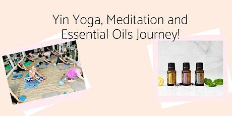 Essential Oils Intro Work Shop & Yin Yoga Journey tickets