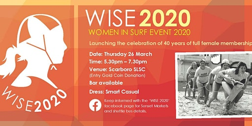 WISE 2020 SUNDOWNER