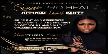 Official Cavasier Pro Heat Launch Party tickets