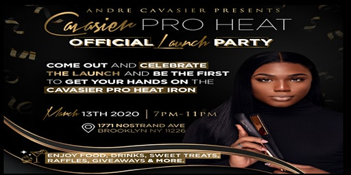 Official Cavasier Pro Heat Launch Party