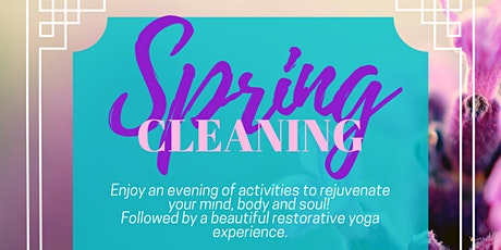 Spring Cleaning tickets