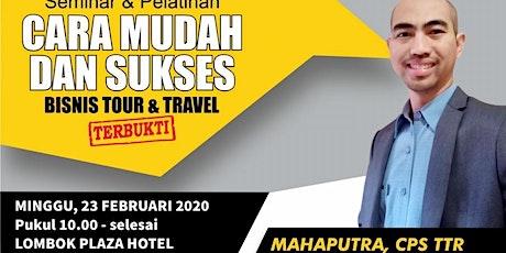 085315699077 Seminar Dahsyat di Lombok tickets