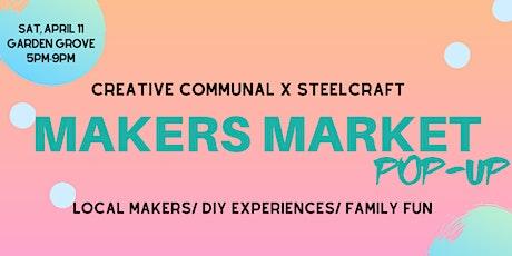 Second Saturdays Makers Market Pop Up tickets